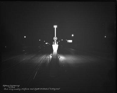 Street Improvement Photographs -- Box 34, Folder 32 (Eighth Street) -- negative, 1941-10-15