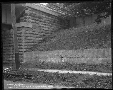 Street Improvement Photographs -- Box 34, Folder 33 (Eighth Street) -- negative, 1938-07-13