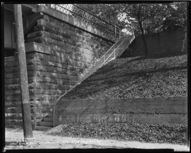 Street Improvement Photographs -- Box 34, Folder 33 (Eighth Street) -- negative, 1938-09-08