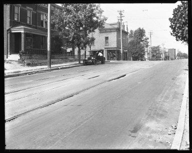 Street Improvement Photographs -- Box 34, Folder 37 (Eighth Street) -- negative, 1930