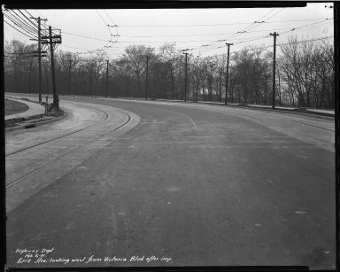 Street Improvement Photographs -- Box 34, Folder 39 (Erie Avenue) -- negative, 1931-02-06