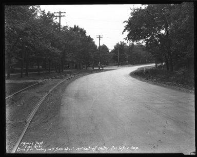 Street Improvement Photographs -- Box 34, Folder 39 (Erie Avenue) -- negative, 1930-06-16