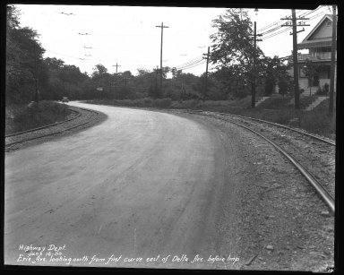 Street Improvement Photographs -- Box 34, Folder 39 (Erie Avenue) -- negative, 1930-06-16