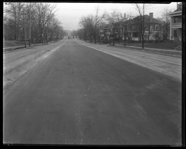 Street Improvement Photographs -- Box 34, Folder 39 (Erie Avenue) -- negative, 1927