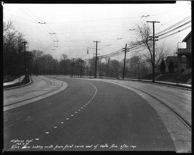Street Improvement Photographs -- Box 34, Folder 40 (Erie Avenue) -- negative, 1931-02-06
