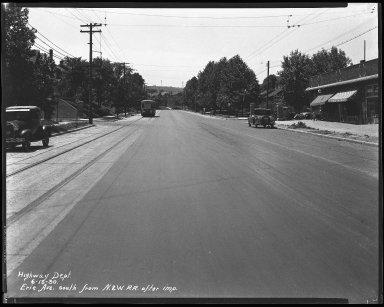 Street Improvement Photographs -- Box 34, Folder 41 (Erie Avenue) -- negative, 1930-06-16