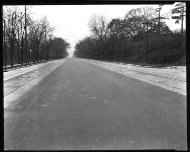 Street Improvement Photographs -- Box 34, Folder 43 (Erie Avenue) -- negative, 1928