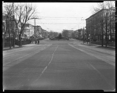 Street Improvement Photographs -- Box 34, Folder 43 (Erie Avenue) -- negative, 1928-12-28