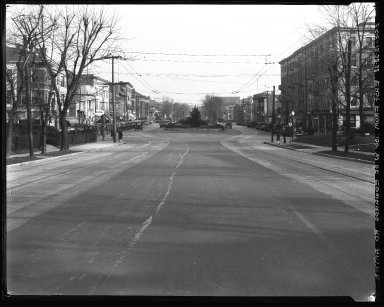 Street Improvement Photographs -- Box 34, Folder 43 (Erie Avenue) -- negative, 1928-12-28