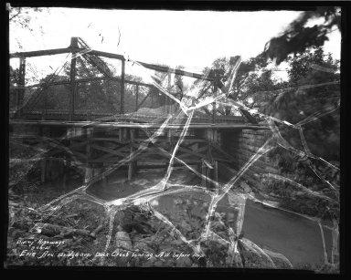 Street Improvement Photographs -- Box 34, Folder 45 (Erie Avenue Bridge) -- negative, 1931-09-18