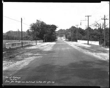 Street Improvement Photographs -- Box 34, Folder 45 (Erie Avenue Bridge) -- negative, 1932-08-12