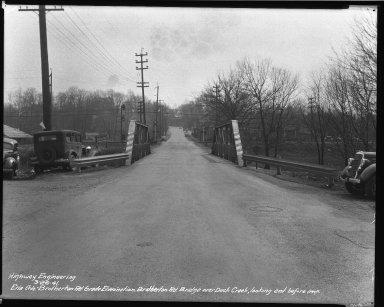 Street Improvement Photographs -- Box 34, Folder 48 (Erie Avenue) -- negative, 1941-03-26