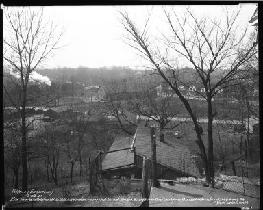 Street Improvement Photographs -- Box 34, Folder 48 (Erie Avenue) -- negative, 1941-03-26