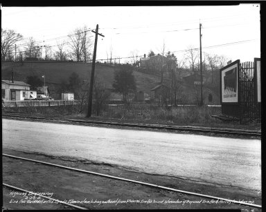 Street Improvement Photographs -- Box 34, Folder 49 (Erie Avenue) -- negative, 1941-03-26