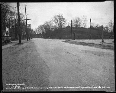 Street Improvement Photographs -- Box 34, Folder 50 (Erie Avenue) -- negative, 1941-03-26