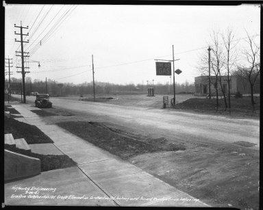 Street Improvement Photographs -- Box 34, Folder 51 (Erie Avenue) -- negative, 1941-03-26
