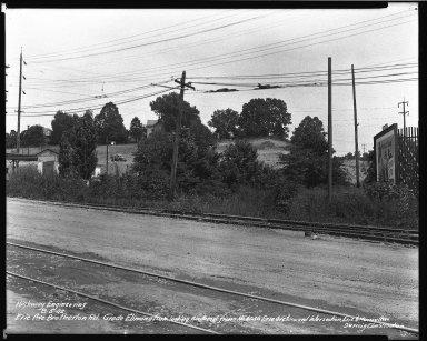 Street Improvement Photographs -- Box 34, Folder 53 (Erie Avenue) -- negative, 1942-08-05