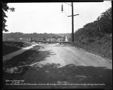 Street Improvement Photographs -- Box 34, Folder 53 (Erie Avenue) -- negative, 1942-07-14