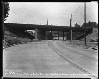Street Improvement Photographs -- Box 34, Folder 54 (Erie Avenue) -- negative, 1942-07-14