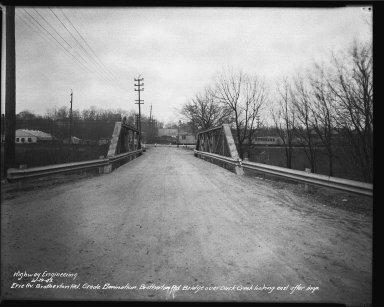 Street Improvement Photographs -- Box 34, Folder 54 (Erie Avenue) -- negative, 1943-03-19