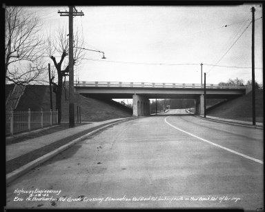 Street Improvement Photographs -- Box 34, Folder 55 (Erie Avenue) -- negative, 1943-03-25