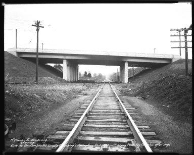 Street Improvement Photographs -- Box 34, Folder 55 (Erie Avenue) -- negative, 1943-03-23