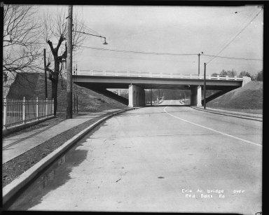 Street Improvement Photographs -- Box 34, Folder 56 (Erie Avenue) -- negative, 1942