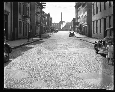 Street Improvement Photographs -- Box 35, Folder 03 (Elder Street) -- negative, 1928