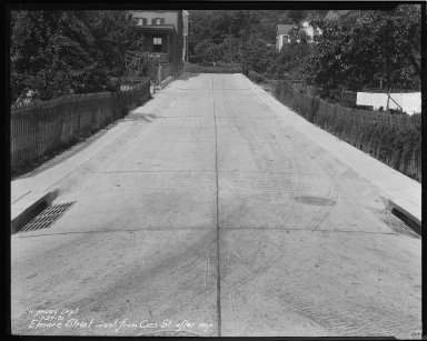 Street Improvement Photographs -- Box 35, Folder 06 (Elmore Street) -- negative, 1931-07-27