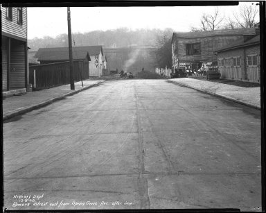 Street Improvement Photographs -- Box 35, Folder 06 (Elmore Street) -- negative, 1930-12-08