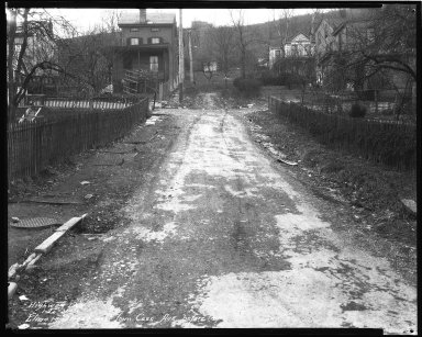 Street Improvement Photographs -- Box 35, Folder 06 (Elmore Street) -- negative, 1931-01-20