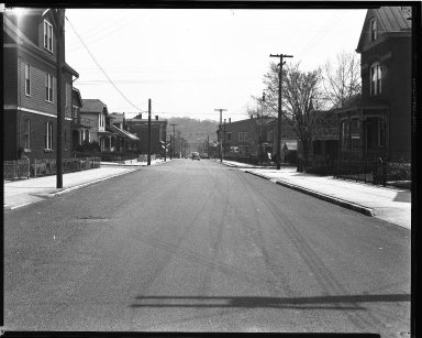 Street Improvement Photographs -- Box 35, Folder 06 (Elmore Street) -- negative, 1930