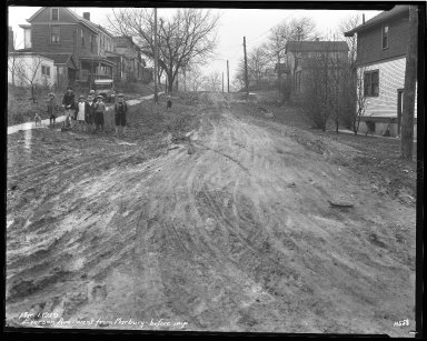 Street Improvement Photographs -- Box 35, Folder 13 (Everson Avenue) -- negative, 1929-03-01