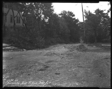 Street Improvement Photographs -- Box 35, Folder 15 (Fairbanks Avenue) -- negative, 1926-10-04