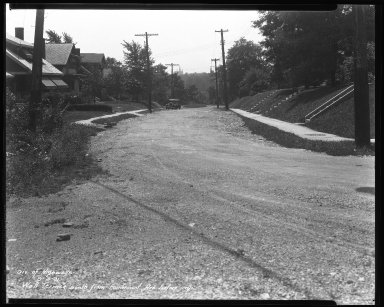 Street Improvement Photographs -- Box 35, Folder 19 (Fairmount Avenue) -- negative, 1931-09-03