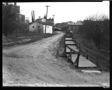 Street Improvement Photographs -- Box 35, Folder 19 (Fairmount Avenue) -- negative, 1929-04-03