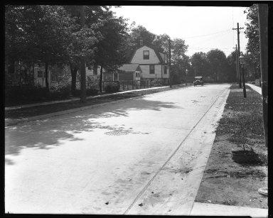 Street Improvement Photographs -- Box 35, Folder 25 (Ferdinand Place) -- negative, 1924