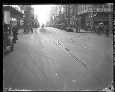 Street Improvement Photographs -- Box 35, Folder 28 (Fifth Street) -- negative, 1928-12-28