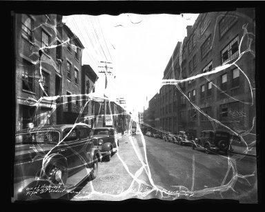 Street Improvement Photographs -- Box 35, Folder 33 (Fifth Street) -- negative, 1936-08-16