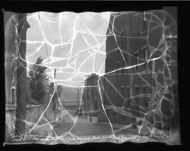 Street Improvement Photographs -- Box 35, Folder 33 (Fifth Street) -- negative, 1936-08-16