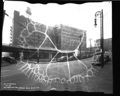 Street Improvement Photographs -- Box 35, Folder 36 (Fifth Street) -- negative, 1938-11-06