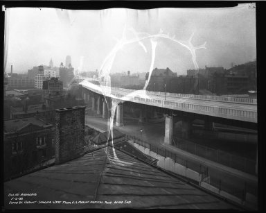 Street Improvement Photographs -- Box 35, Folder 36 (Fifth Street) -- negative, 1938-11-06