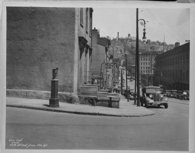 Street Improvement Photographs -- Box 35, Folder 37 (Fifth Street) -- negative, 1937-05-06