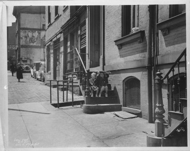 Street Improvement Photographs -- Box 35, Folder 37 (Fifth Street) -- negative, 1937-05-06