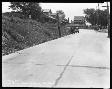 Street Improvement Photographs -- Box 35, Folder 40 (Fisk Avenue) -- negative, 1931-06-29