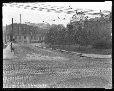 Street Improvement Photographs -- Box 35, Folder 42 (Florence Avenue) -- negative, 1926-09-29