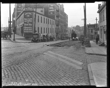 Street Improvement Photographs -- Box 35, Folder 43 (Florence Avenue) -- negative, 1926-09-29