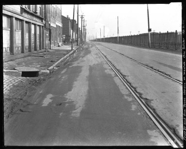 Street Improvement Photographs -- Box 35, Folder 56 (Front Street) -- negative, 1929-02-26