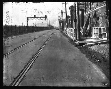 Street Improvement Photographs -- Box 35, Folder 56 (Front Street) -- negative, 1929
