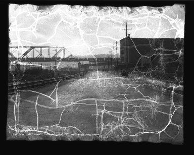 Street Improvement Photographs -- Box 35, Folder 57 (Front Street) -- negative, 1934-05-09